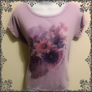 American Eagle Floral Loose Fitting Top